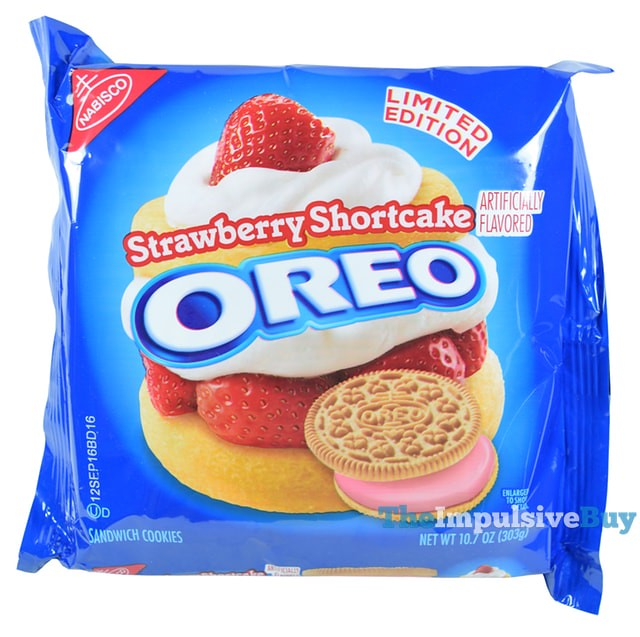 Limited Edition Strawberry Shortcake Oreo