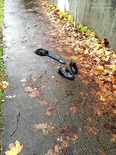 20151203 - Abandoned Shoes & Net