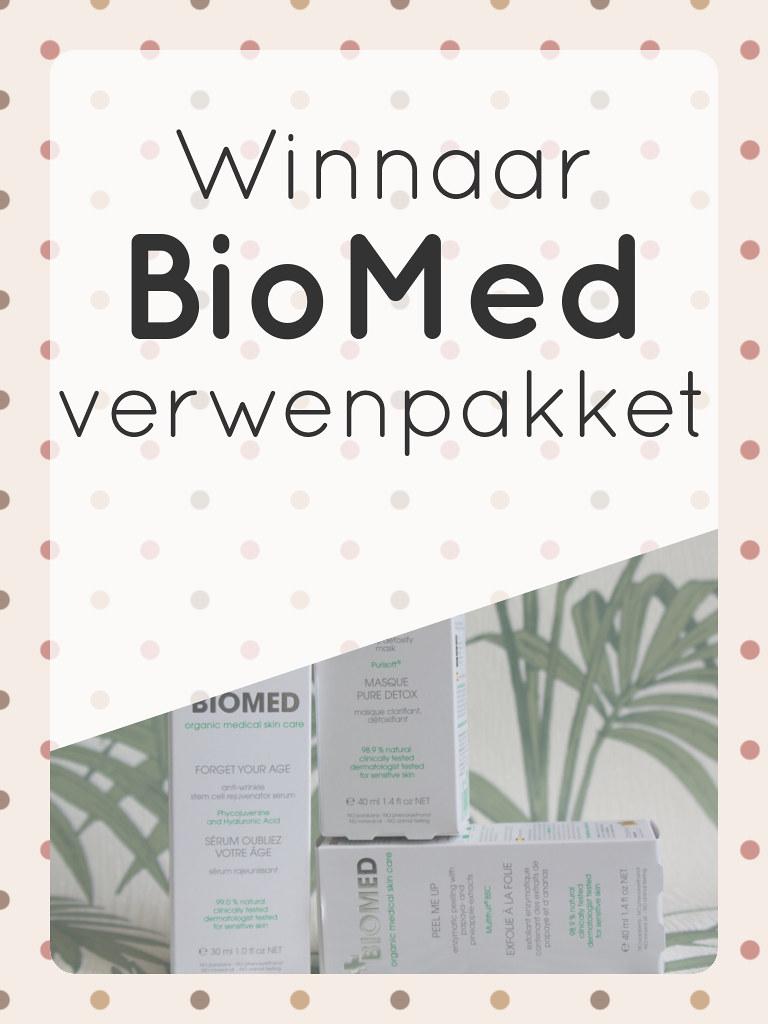 Winnaar BioMed verwenpakket • CherryCharlie.nl