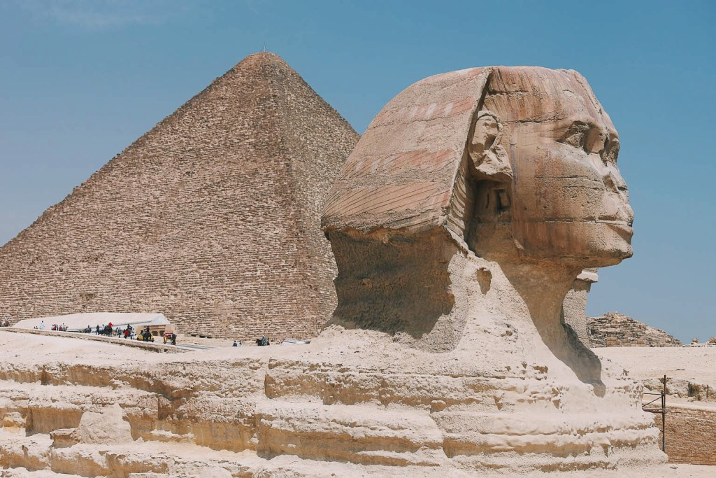 Pyramid and Sphinx