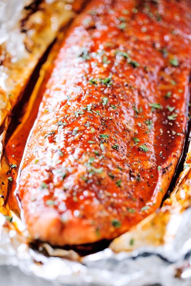 Firecracker Baked Salmon In Foil Recipe Little Spice Jar
