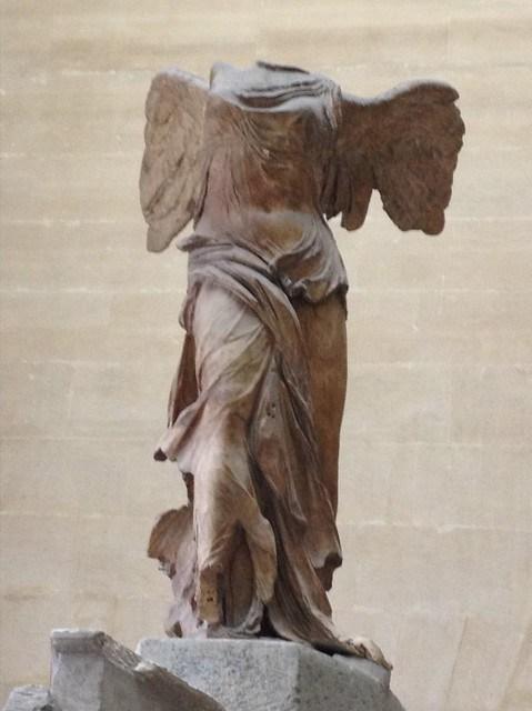 Samotracia's Nike, Paris Louvre