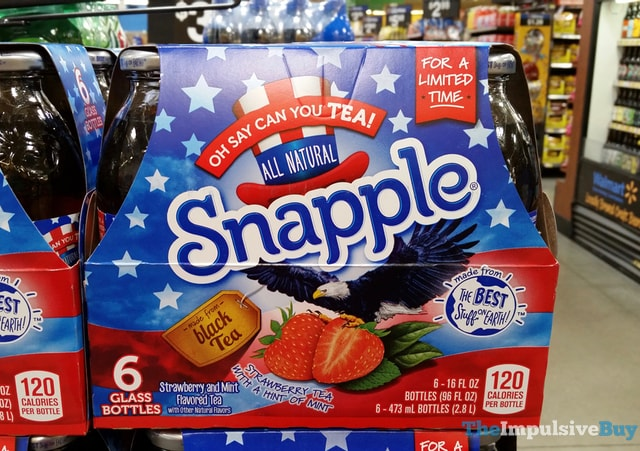 Snapple Oh Say Can You Tea