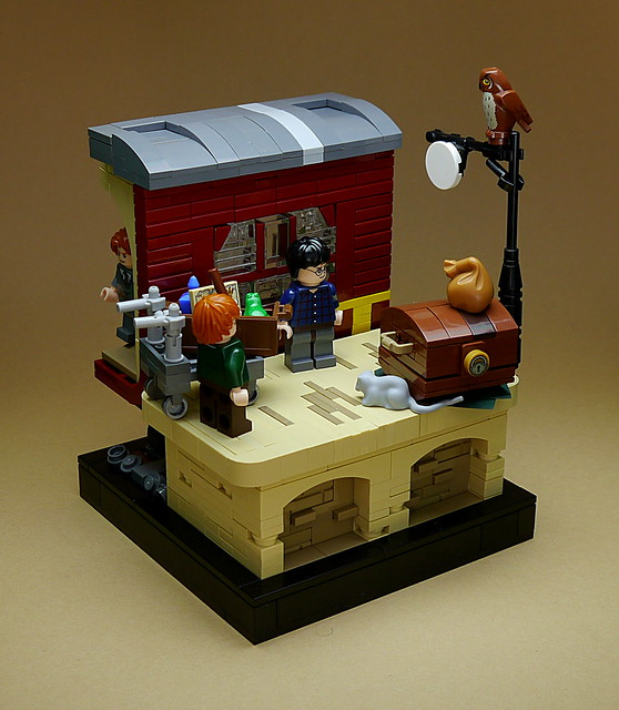 LEGO Harry Potter vignettes #003 - Platform ''Nine Three Quarters''