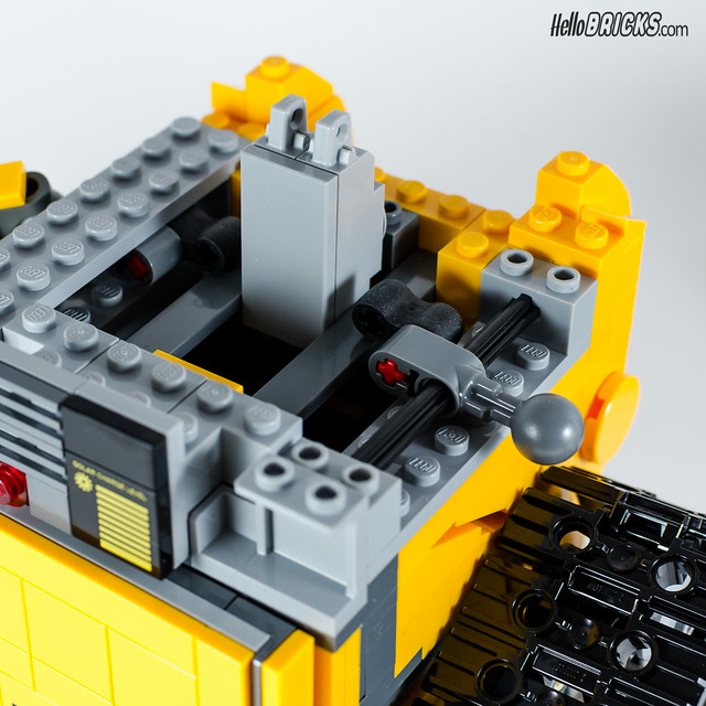 REVIEW LEGO 21303 WALL-E LEGO IDEAS 10