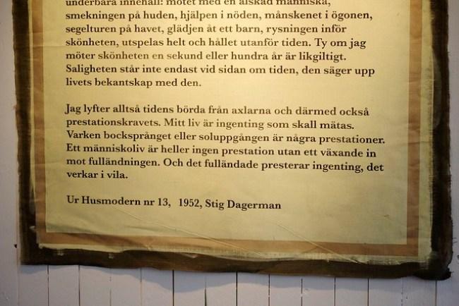 Quote Stig Dagerman