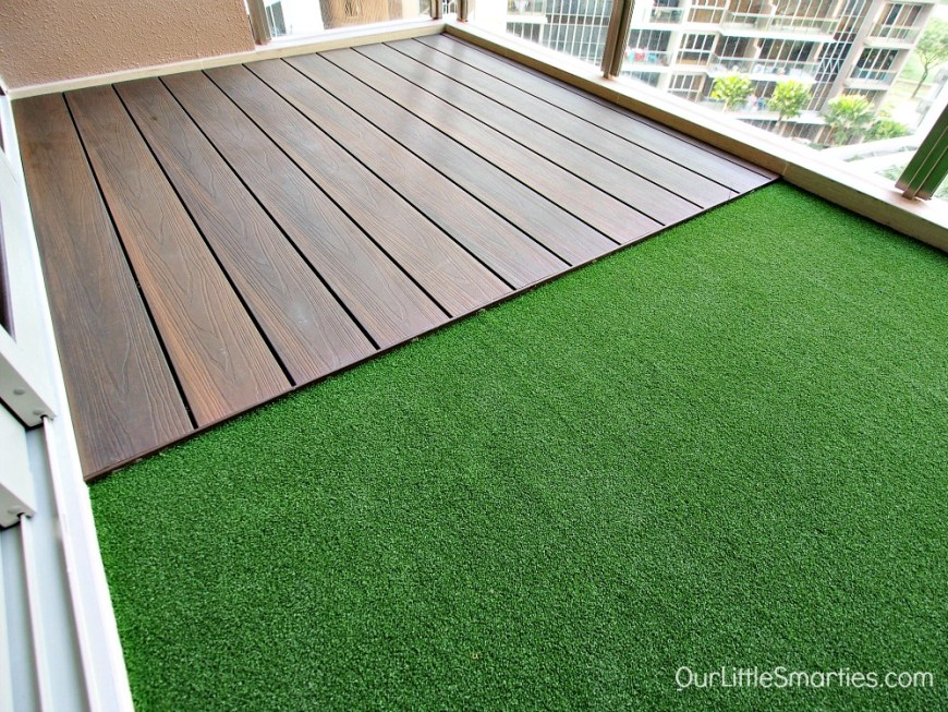 Bartley residences renovation part 4 completion for Balcony renovation