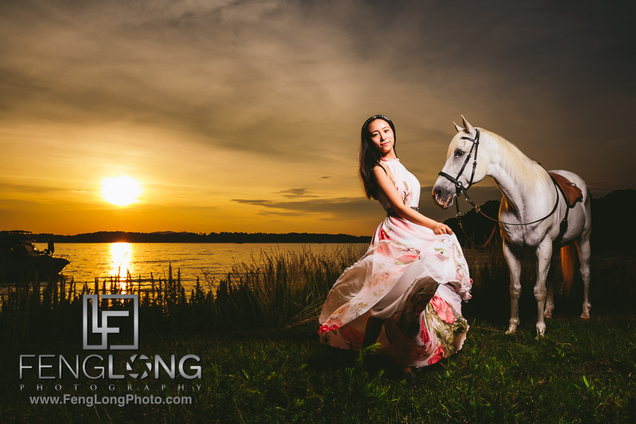 Belle | Lake Lanier Horse Portrait Session | New York Destination Wedding Photographer