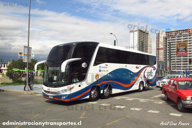 Eme Bus   Santiago, Chile   Marcopolo Paradiso 1600 LD - Volvo (GLZH86) (58)