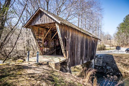 Stovill Mill Covered Bridge-005