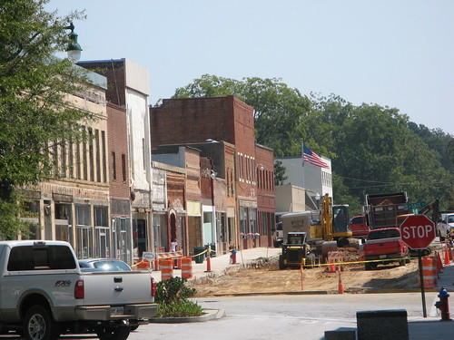 Toccoa_Mall_Construction