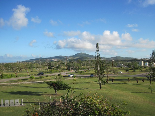 Picture from Aslito Airfield, Saipan