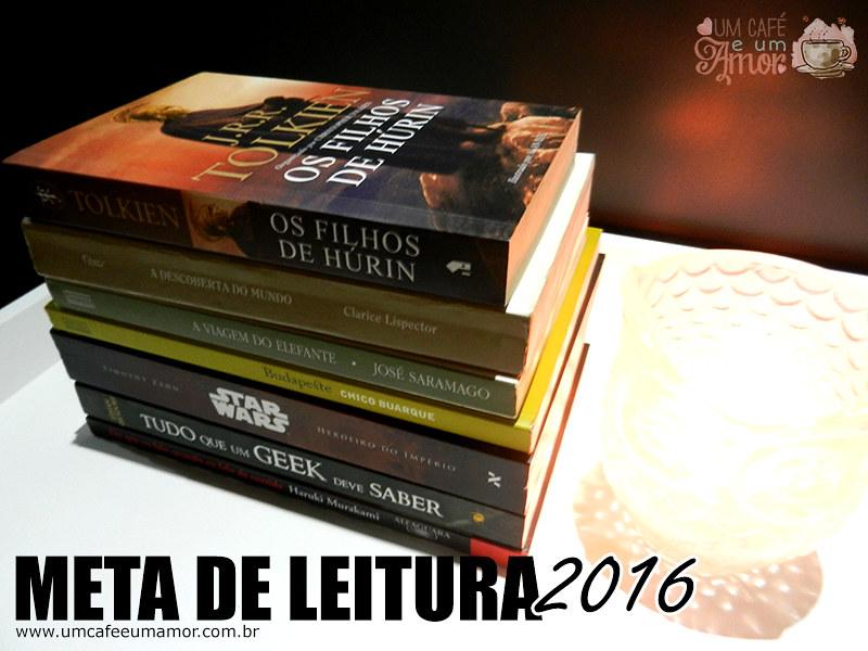 Meta de Leitura 2016