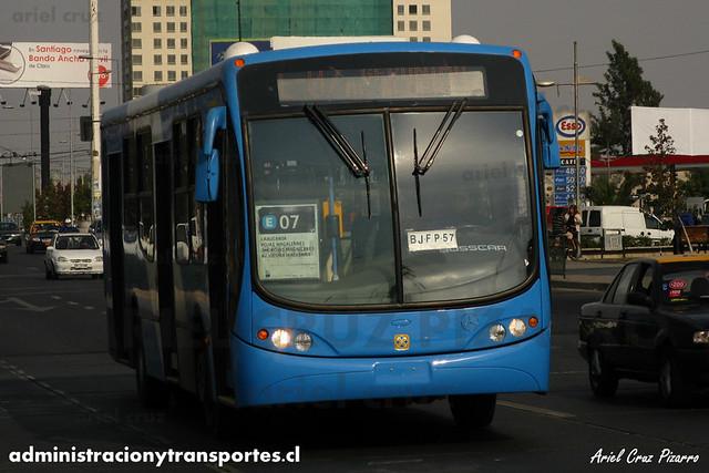 Transantiago - Unitran - Busscar Urbanuss Pluss / Mercedes Benz (BJFP57)