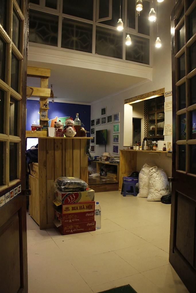 Et godt hostel i Hanoi