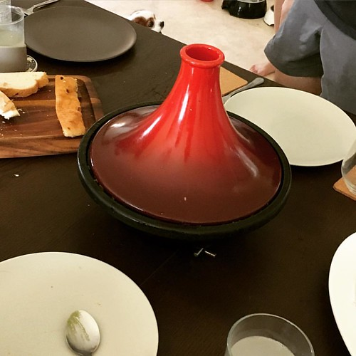 Main star of the show at our lunch yesterday. In a @lecreuset tagine no less. Guess what's in it? More to be unveiled soon ;) #thechefwholifts #lecreuset #tagine #homemade #homecooking #slowcooked #slowfood #lunch