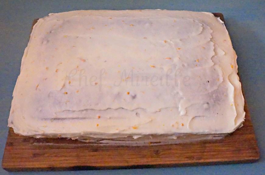 Basic Chocolate Cake & Orange Cream Cheese Frosting - The Schizo Chef