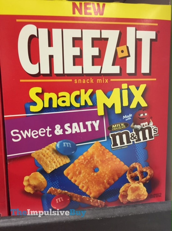 Cheez-It Snack Mix Sweet & Salty made with Milk Chocolate M&M's