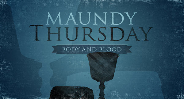 Holy thursday message