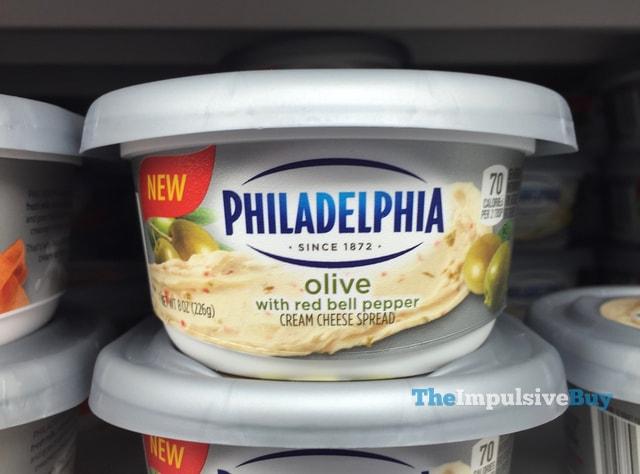 Philadelphia Olive Cream Cheese Spread