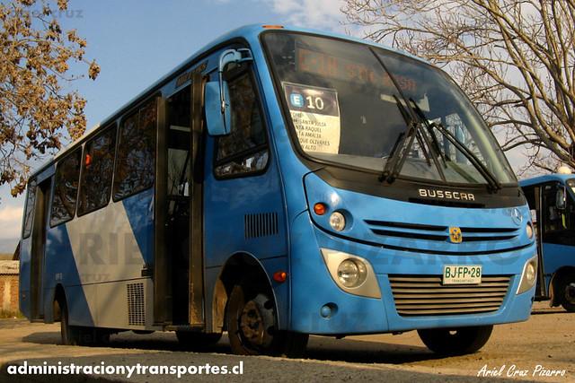 Transantiago - Unitran - Busscar Micruss / Mercedes Benz (BJFP28)