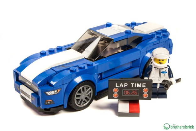 lego speed champions 75871 ford mustang gt review the. Black Bedroom Furniture Sets. Home Design Ideas