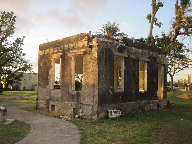 Picture of the Old Japanese Hospital on Saipan