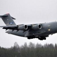 NATO Strategic Airlift Capability SAC-02 PAPA, OSL ENGM Gardermoen