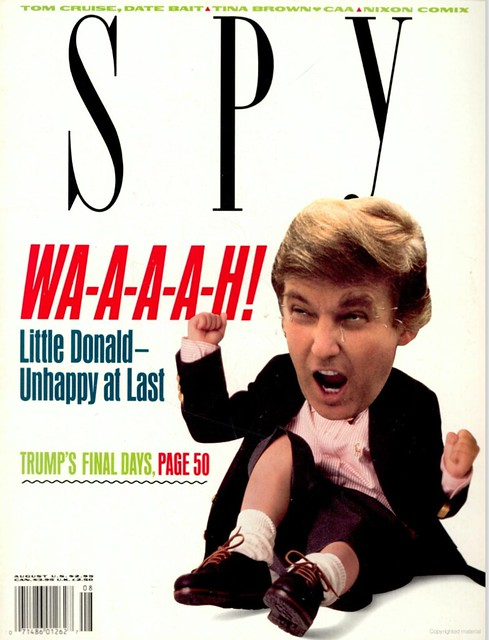 Spy Magazine - Donald Trump - Trumps final days