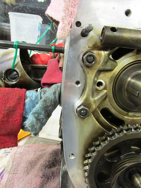 Engine Mating Surface Clean and Polished