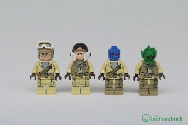 LEGO Star Wars 75133 Rebel Alliance Battle Pack [Review]   The ...