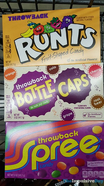 Throwback Runts, Bottle Caps, and Spree