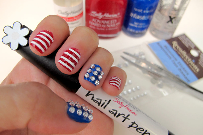 Fourth-Of-July-Nails