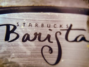 Because I'm the Barista, Be-otch!