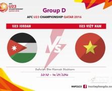 Xem lại: U23 Jordan vs U23 Việt Nam
