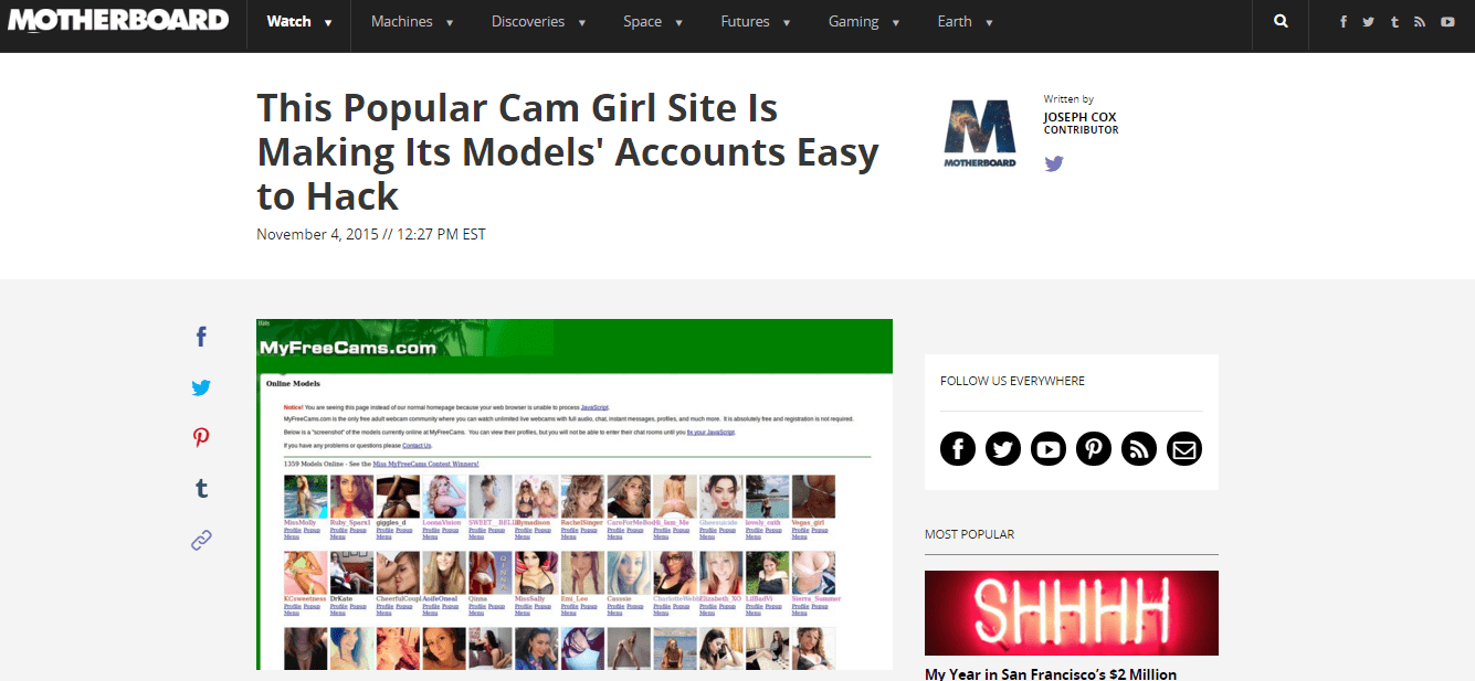 Camgirl industry 2