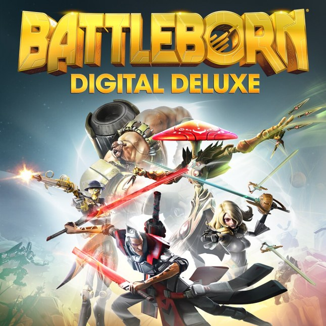 Battleborn Digital Deluxe – PS4