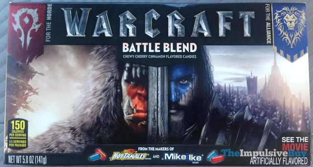 Mike and Ike Hot Tamales Warcraft Battle Blend