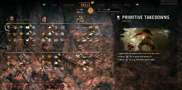 Far Cry Primal Skills