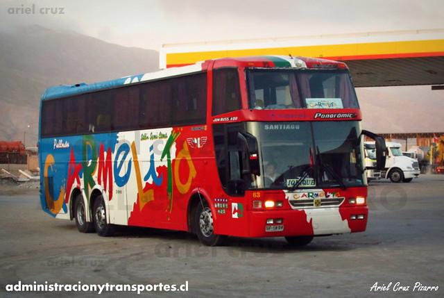 Pullman Carmelita - Chañaral - Busscar Jum Buss 400T / Mercedes Benz (SF1809) (63)