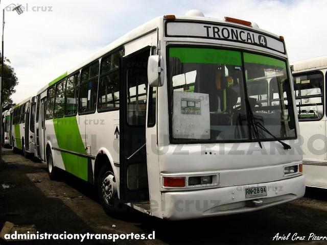 Transantiago (406e) - Terminal La Estrella - Jiménez O'Farril Midas / Mercedes Benz (RN2894)