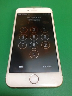 56_iPhone6のフロントパネルガラス割れ