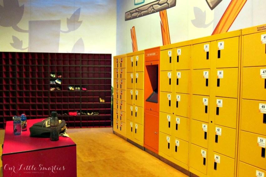 Angry Birds Activity Park Electronic Locker