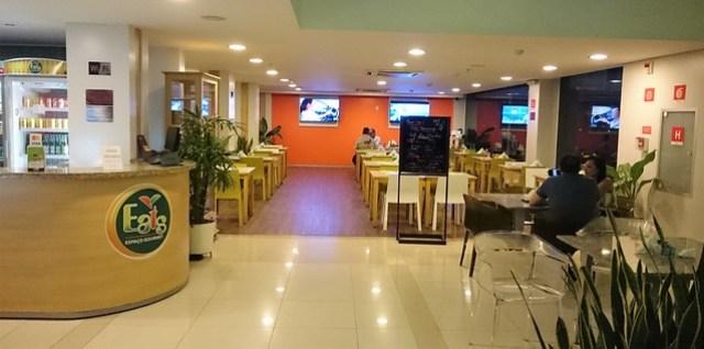 Go Inn Manaus eating area