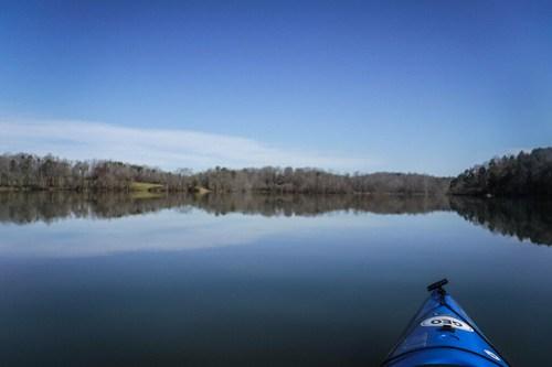 Saluda Lake Paddling-10