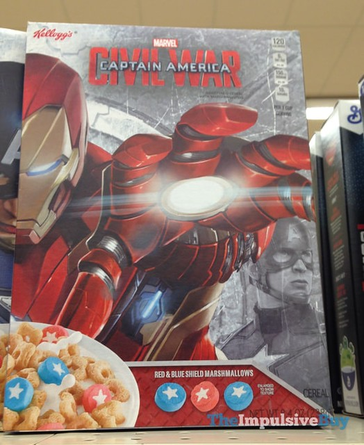 Kellogg's Marvel Captain America Civil War Cereal 2