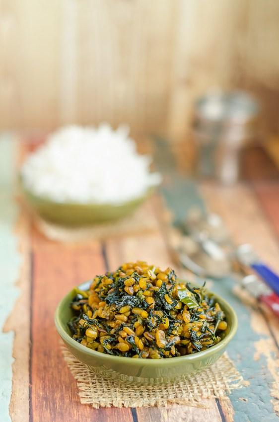 Menthi Perasu Pappu Koora, Fenugreek Leaves Green Gram Curry, Telangana Food, Telangana Cuisine, Andhra Food, Indian Food, South Indian Food, Journey Through Regional Cuisine,