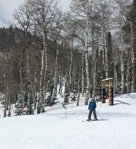 Canyons skiing