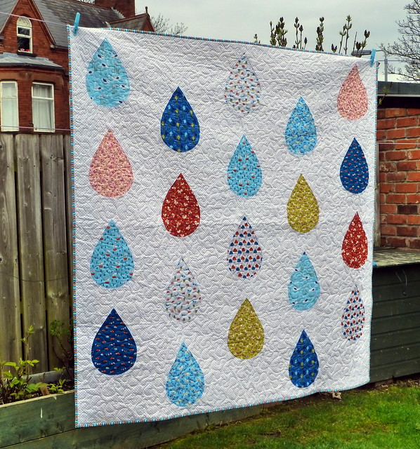 Spring Rain Quilt (April Issue Pretty Patches)