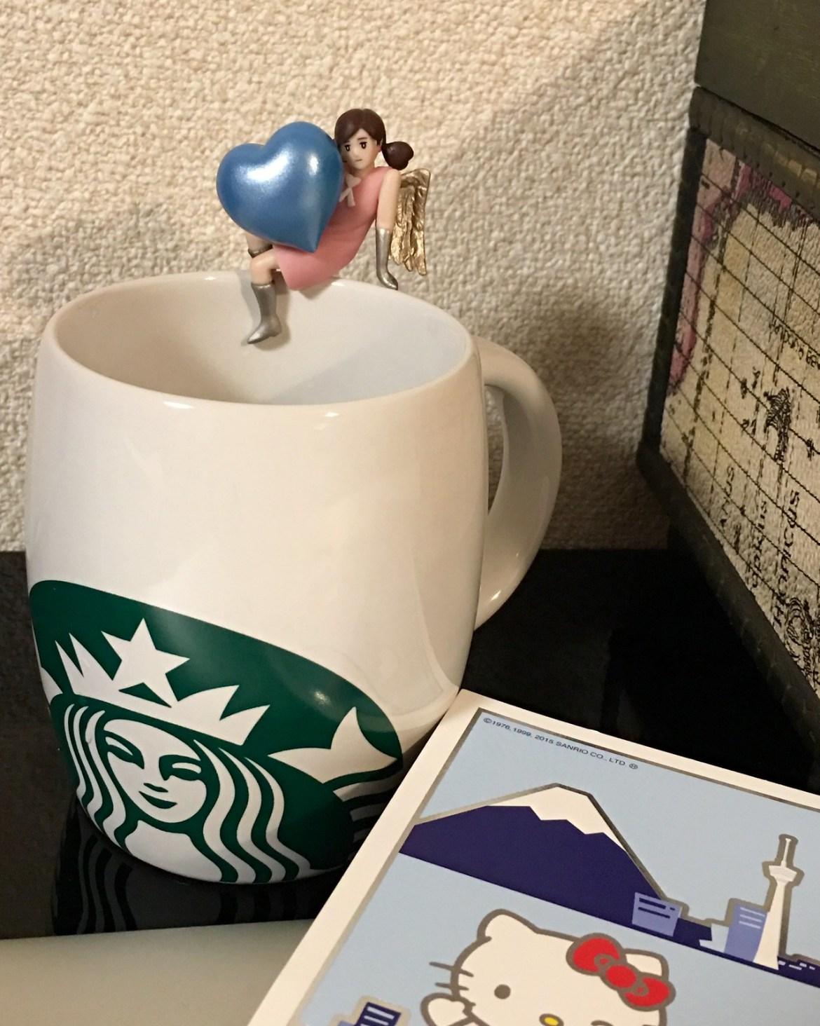 Fuchiko on a cup